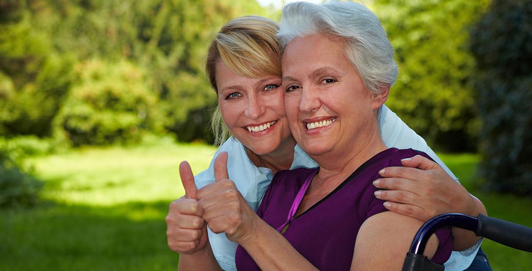24 Stunden Hilfe durch polnische Pflegekräfte ist eine liebevolle Alternative zum Seniorenheim.